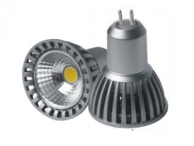 LED ŽÁROVKA MR16 4W/12V СОВ BÍLÉ DEN SVĚTLO