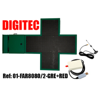 LED panel Lékárna FAR8080/2-GRE+RED